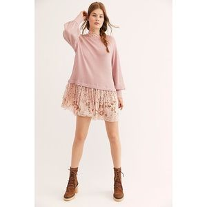 Free People Opposite Attraction Thermal  Dress